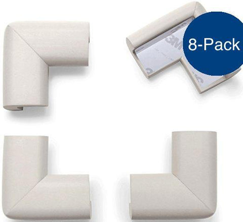 8-Pack Foam Corner Protectors / 3 Colors ], babyproofing- The Hamptons Baby Co.