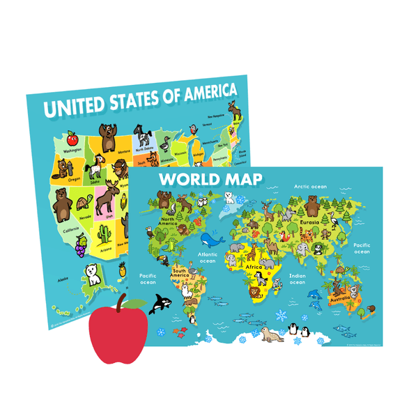 Maps For Kids ], - The Hamptons Baby Co.
