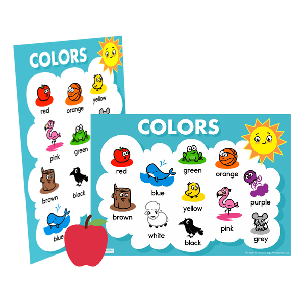 Color Charts ], Printables- The Hamptons Baby Co.