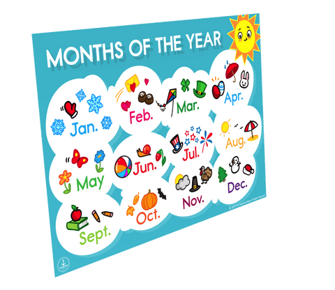 Image of Months Of The Year ], - The Hamptons Baby Co.