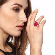 Statement ruby ring