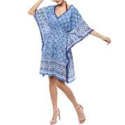 Colours of the sea midi kaftan