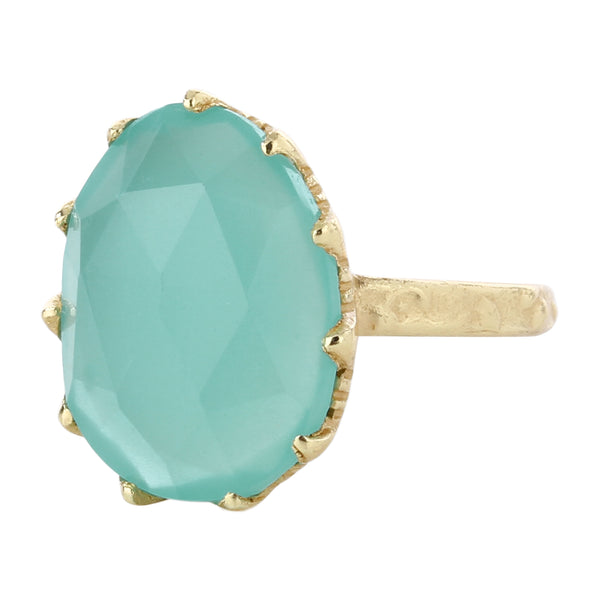 Sunder aquamarine ring