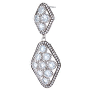 Chandelier Topaz Earrings