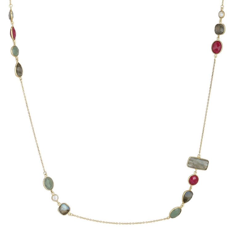 Art Deco long necklace