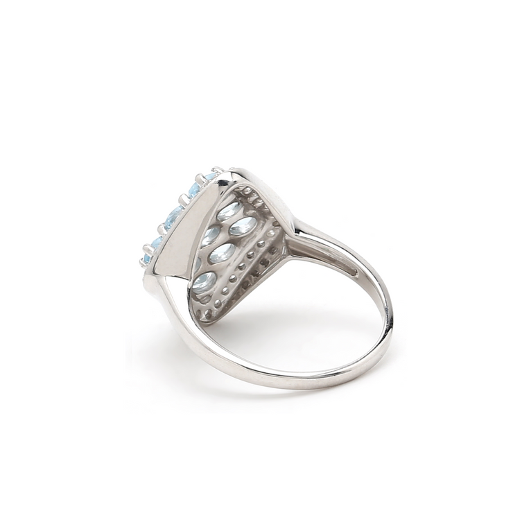 Sabina Blue Topaz Ring
