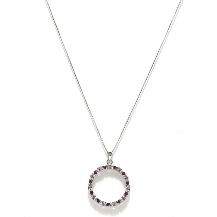 Sabina pendant necklace - Amethyst