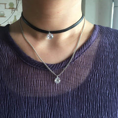 Chasma Leather Choker