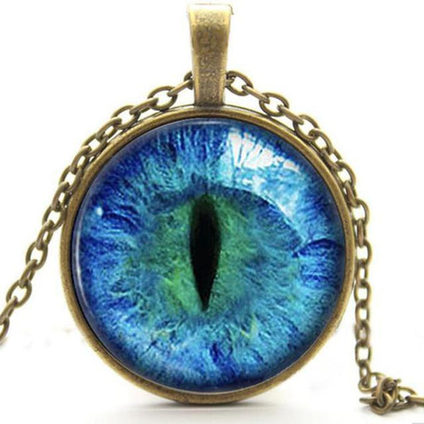 Glow in the Dark Cat Eye Necklace