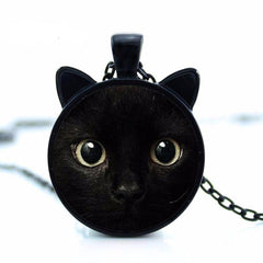 Handmade Cat Pendant Necklace