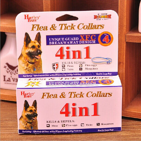 Adjustable Flea & Tick Collar for Large Dogs
