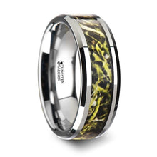 Load image into Gallery viewer, Green Marsh Hunter Camouflage Tungsten Carbide Ring
