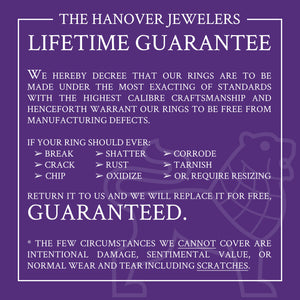 Domed Tungsten Carbide Ring with 3 Alexandrite Gemstones