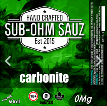 Carbonite by Sub Ohm Sauz