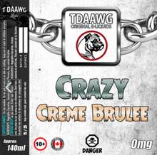 T Daawg Labs - Crazy Creme Brulee 60ml