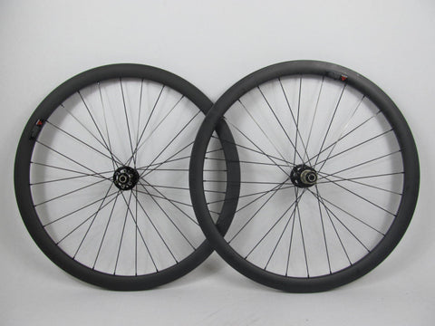 3.8 CX Wheel Set with Novatec Hubs