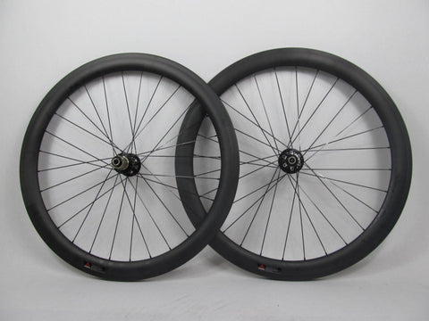 50MM Cyclocross Full Carbon Wheel with Novatec Hubs