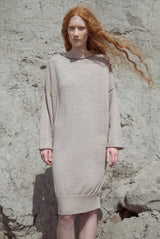 LOUNGE DRESS oatmeal