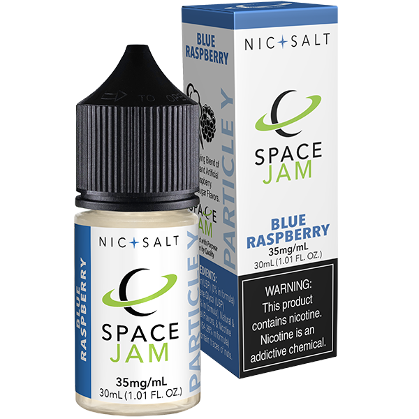 Blue Raspberry (Particle Y) Nic Salt - 35mg/50mg