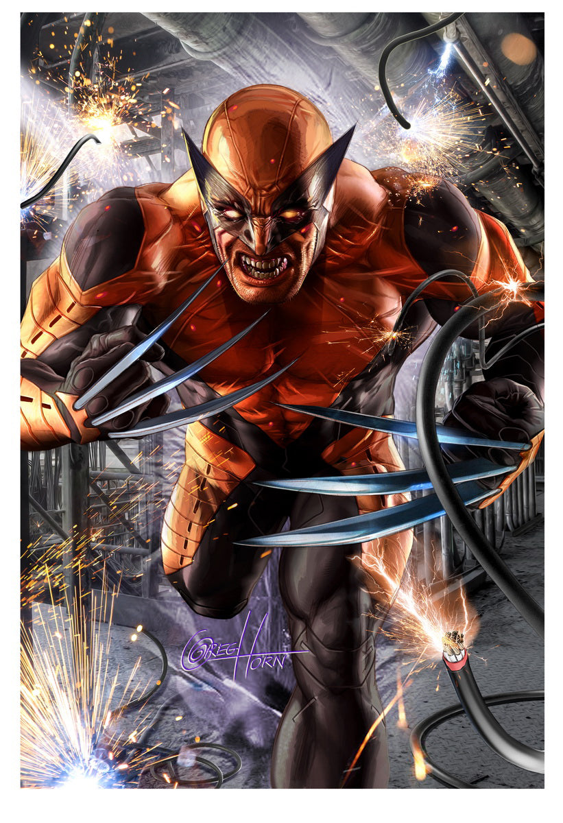 Wolverine #1 - Wizard Sacramento - Limited Lithograph