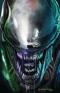 Alien Close-Up - High quality 11 x 17 digital print