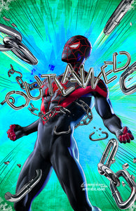 Miles Morales Unchained - High Quality 11 x 17 digital print