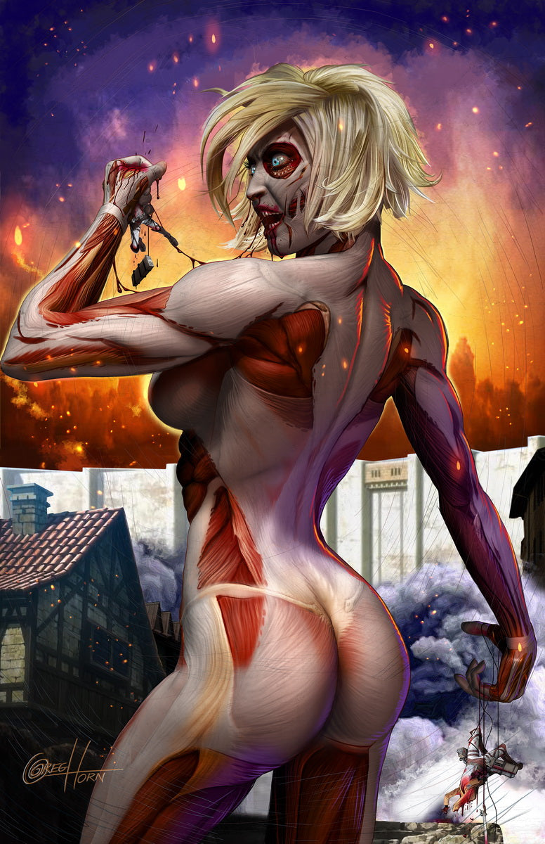 Attack on Titan - Annie - high quality 11 x 17 digital print