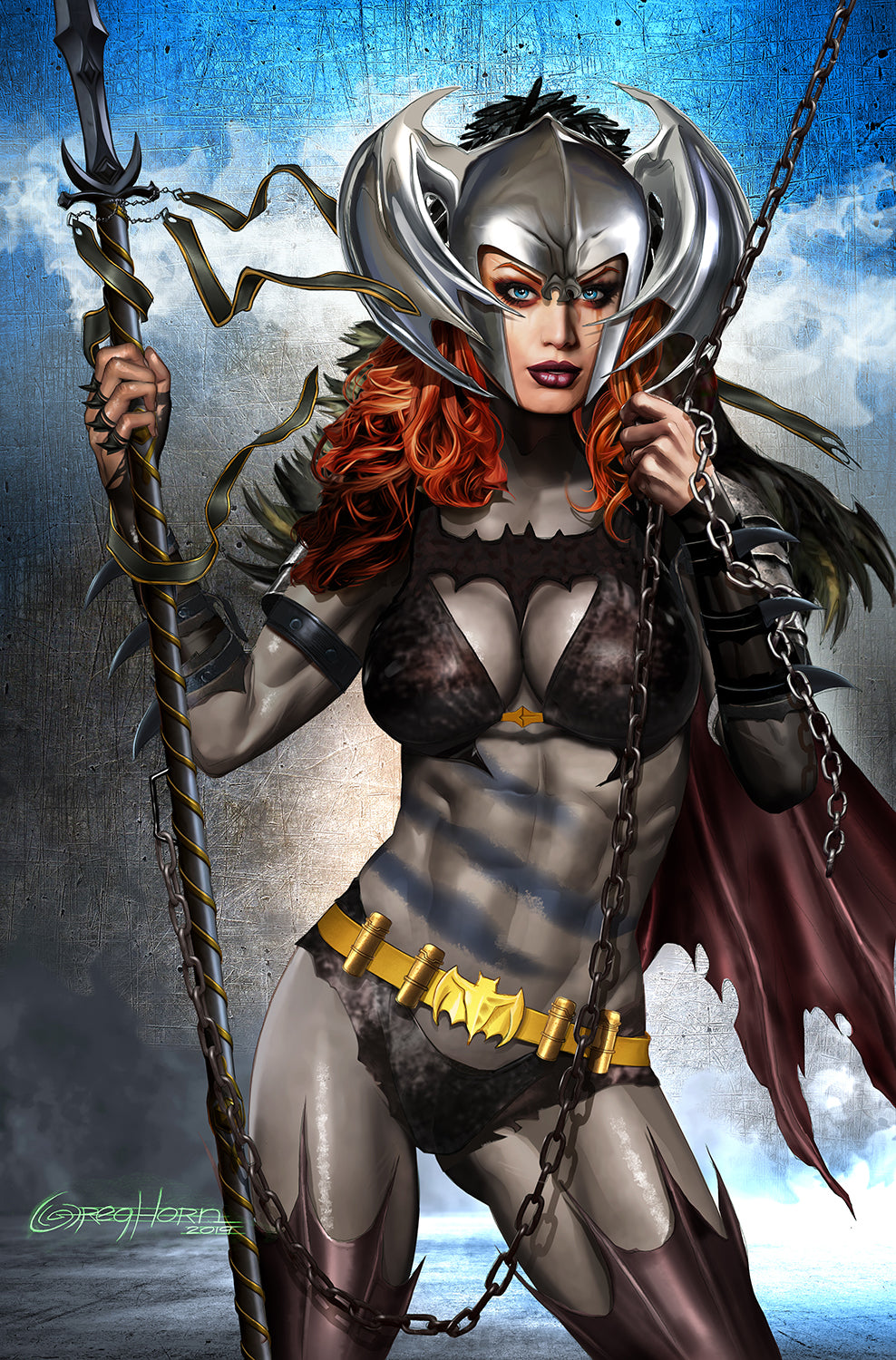 Batman/Superman - Metal Batgirl - High Quality 11 x 17