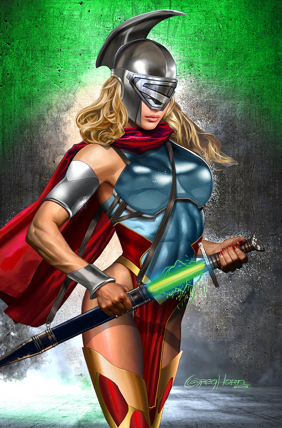 Batman/Superman - Metal Supergirl - High Quality 11 x 17