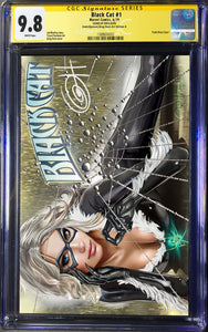 Black Cat # 1 ComicXposure Greg Horn Art Exclusive Variant CGC 9.8
