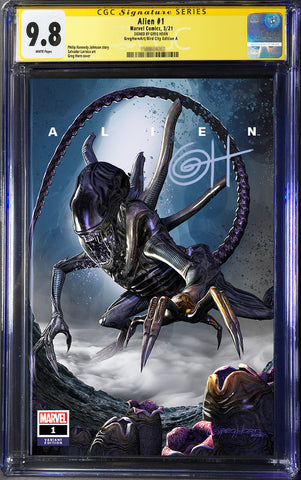 Alien # 1 - A Bird City Comics/Greg Horn Art Variant -CGC Signature Series Options