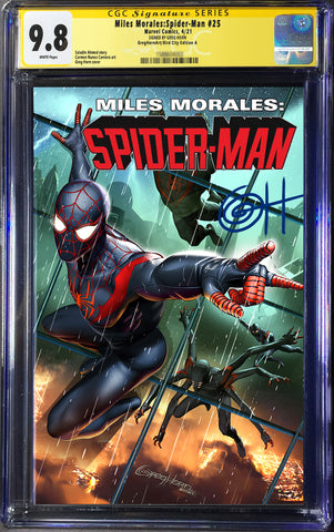 Miles Morales: Spider-Man # 25 - A Greg Horn Art/Bird City Comics/616 Comics CGC Signature Series Options