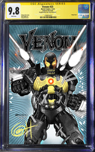 Venom # 25 A Greg Horn Art/Iron Lion Exclusive CGC 9.8 Signature Series