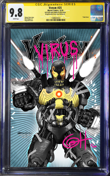 Venom # 25 CGC Signature Series - Convention Special!