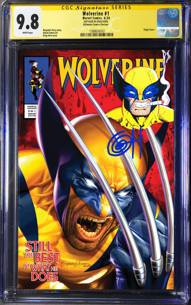 Wolverine # 1 (2020) Ultimate Comics Edition CGC Signature Series Remarked Options