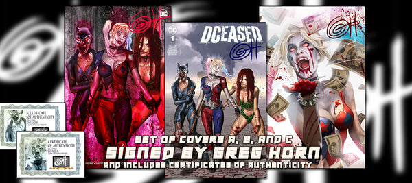 DCeased # 1 ComicXposure Greg Horn Art Exclusive Variants