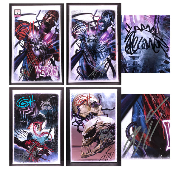 Venom #1 GREG HORN ART EXCLUSIVE VARIANT - Signed by Donny Cates and/or Ryan Stegman