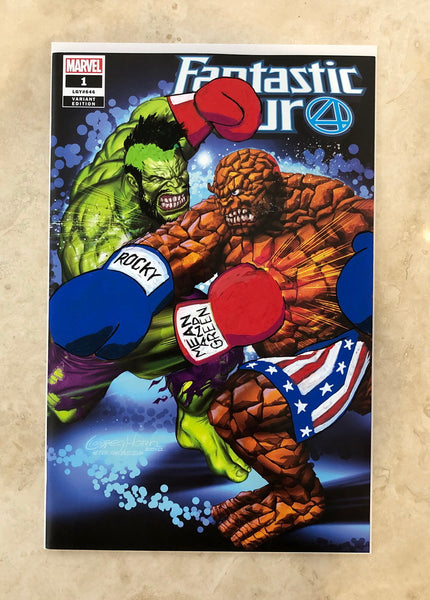 A Fantastic Score! Fantastic Four # 1 Remarked by Greg Horn