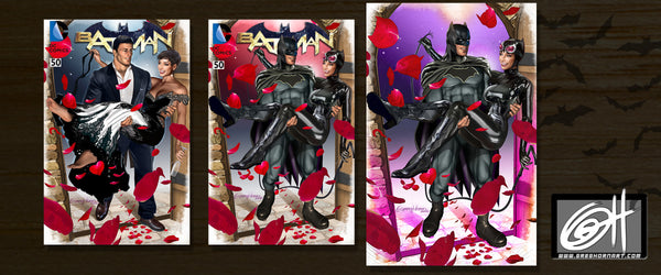 Batman #50 The Wedding of Batman and Catwoman