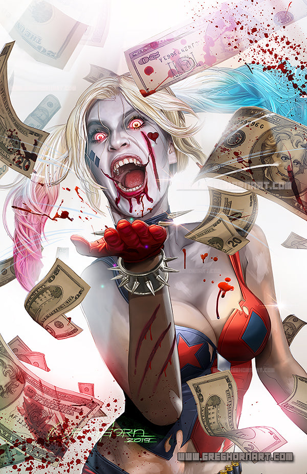 DCeased - Harley Blood Lust - high quality 11 x 17