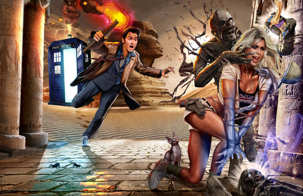 Doctor Who - I want my Mummy - high quality 11 x 17 digital print