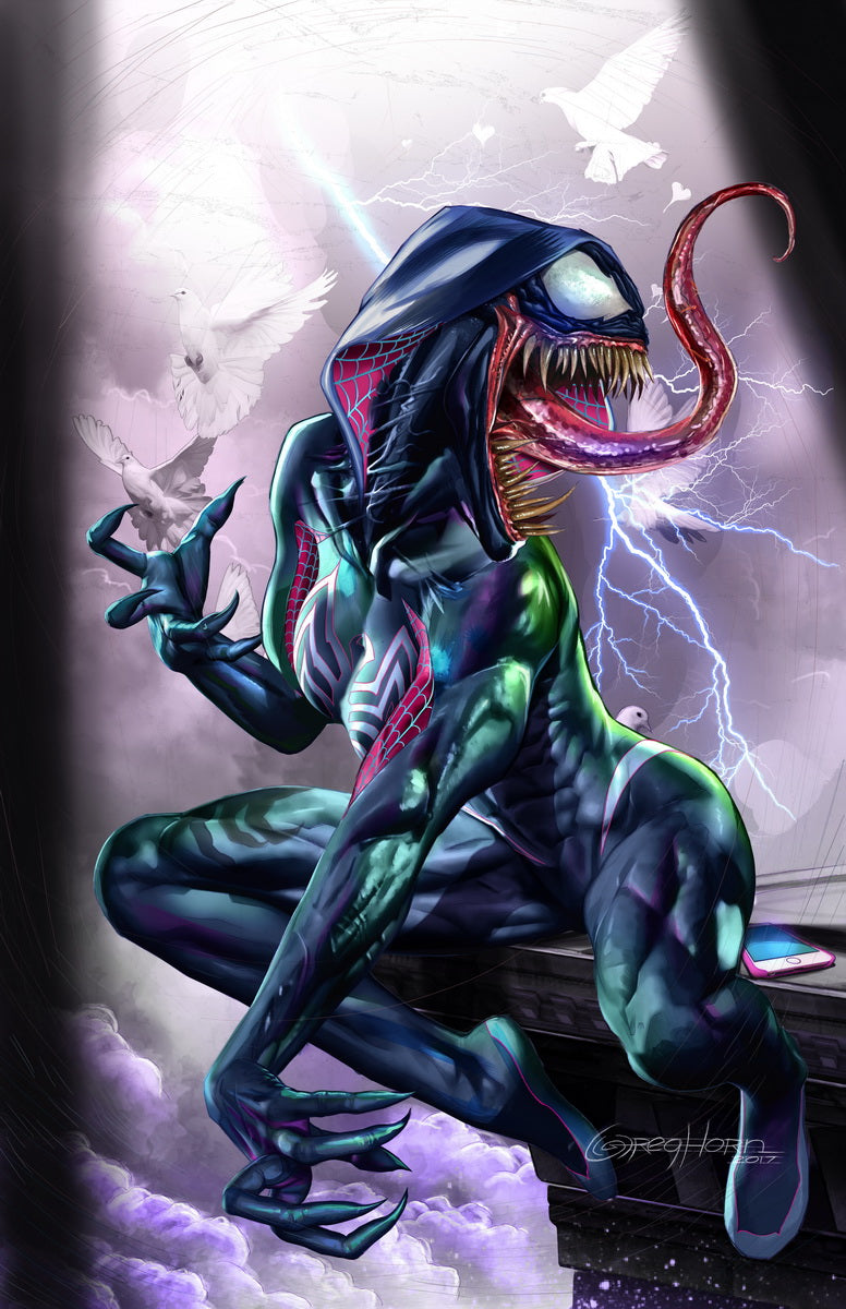 Edge of Venomverse: GWENOM - high quality 11 x 17 digital print