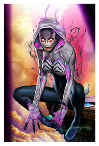 Edge of Venomverse - Hybrid Gwenom! - Limited Lithograph
