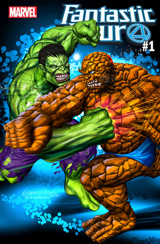 Fantastic Four #1 WantedComix Exclusive w print options - 08/29/2018