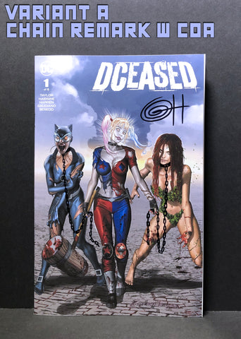 DCeased # 1 ComicXposure Greg Horn Art Exclusive - Signed and Remarqued by Greg Horn