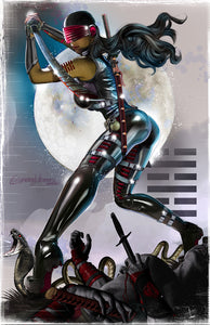 G.I. JOE - Snake Eyes -Breaking the Back of Cobra! - high quality 11 x 17 digital print