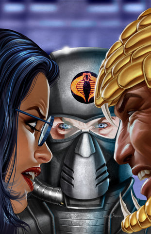 G.I. JOE - Cobra's Surprise - high quality 11 x 17 digital print