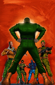 G.I. JOE - Some Guy Named JOE - high quality 11 x 17 digital print