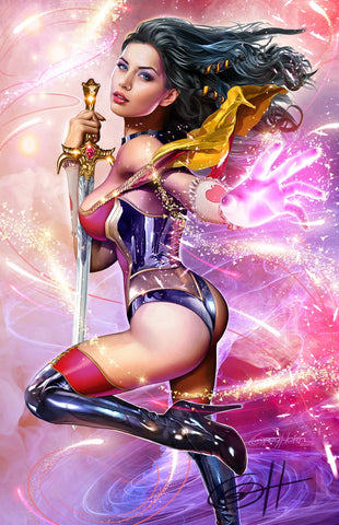 Grimm Fairy Tales - Featuring Skye - high quality 11 x 17 digital print