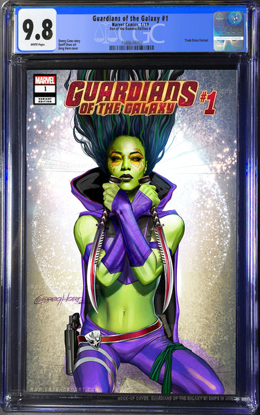 GUARDIANS OF THE GALAXY # 1 Den of the Damned CGC 9.8 Options